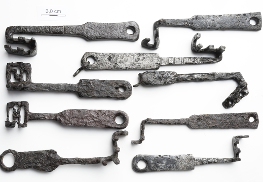 PRIVATE COLLECTION (ANCIENT ROMAN KEYS)